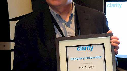 "Clarity announces the ""Best of Show"" winners and Honorary Fellowship at The Bristol Show"
